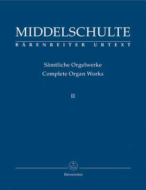 Middelschulte, W: Organ Works, Vol.2 (complete) (Urtext) Concerto / Canon Fantasie on BACH / Fugue / Perpeetuum mobile Product Image