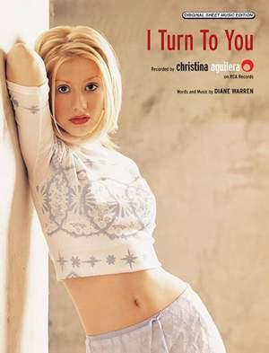 Christina Aguilera: I Turn to You Product Image