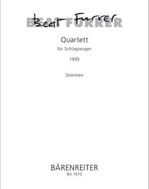 Furrer, B: Quartet for Percussion (1995)