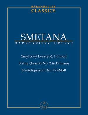 Smetana, B: String Quartet No.2 in D minor (Urtext)