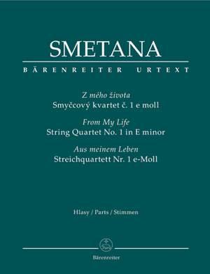 Smetana, B: String Quartet No.1 in E minor (From my Life) (Urtext)