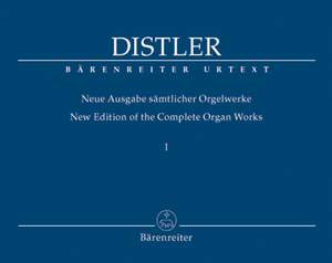 Distler, H: Organ Works Vol.1 (complete) (Urtext). Organ Partitas, Op.8, Nos. 1 & 2