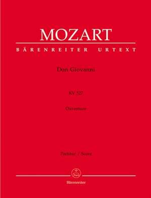 Mozart, WA: Don Giovanni (Overture) (K.527) (Urtext)