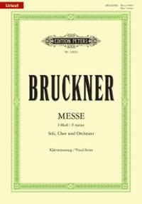 Bruckner, A: Messe f-Moll WAB 28