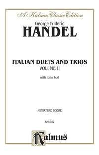 George Frideric Handel: Italian Duets and Trios