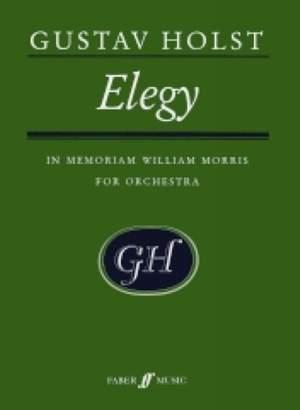 Gustav Holst: Elegy