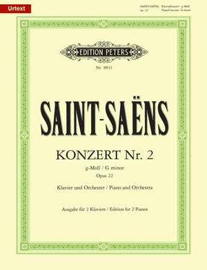 Saint-Saëns, C: Piano Concerto No.2 in G minor