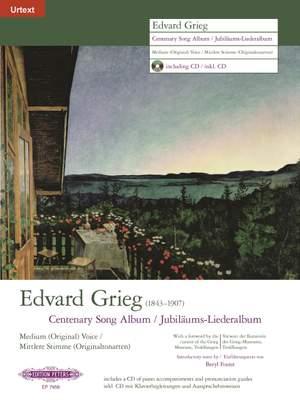 Grieg: Centenary Song Album
