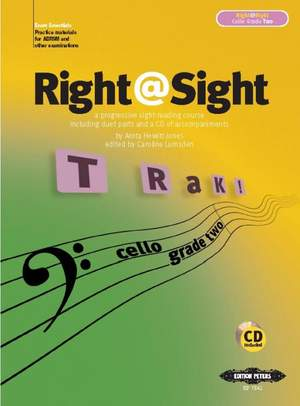 Lumsden, C: Right@Sight for Cello, Grade 2 (includes duet parts and a CD of accompaniments)