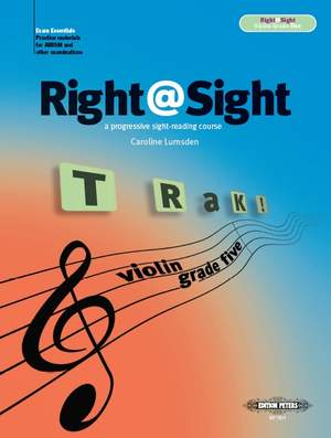 Lumsden, Caroline: Right@Sight for Violin, Grade 5