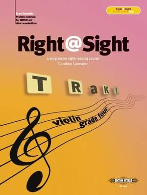 Lumsden, Caroline: Right@Sight for Violin, Grade 4
