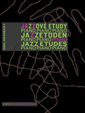 Hradecky, E: Jazz Etudes for the Young Pianist (Cz-G-E) Product Image