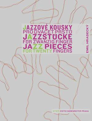 Hradecky, E: Jazz Pieces for Twenty Fingers Product Image