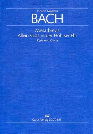 Bach, JL: Missa brevis