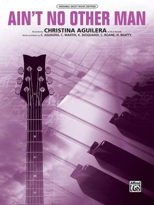 Christina Aguilera: Ain't No Other Man Product Image