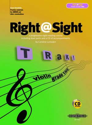 Lumsden, C: Right@Sight for Violin, Grade 2 (includes duet parts and a CD of accompaniments)