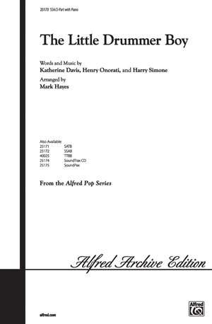 Katherine K. Davis/Henry Onorati/Harry Simeone: The Little Drummer Boy SSA / 2-Part