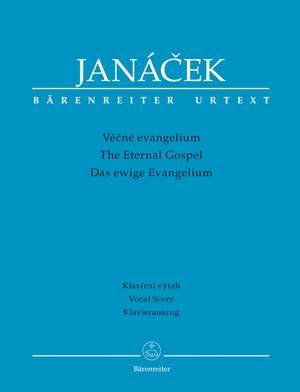 Janacek, L: Eternal Gospel, The (Cz-G-E) (Urtext)