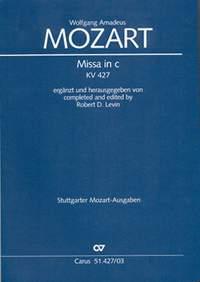 Mozart: Missa in c (KV 427; c-Moll)