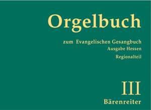 Schuberth, D: Orgelbuch zum Evangelischen Hessen