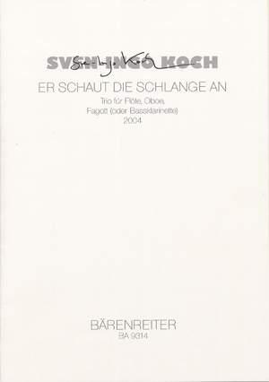 Koch, S: er schaut die Schlange an (2004)