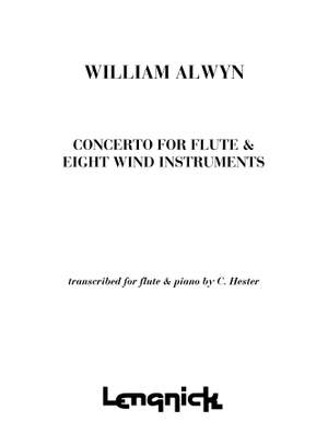 Alwyn: Concerto for Flute & 8 wind instruments