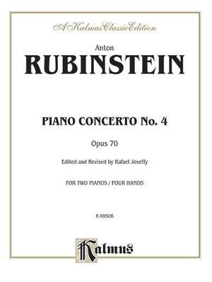 Anton Rubinstein: Piano Concerto No. 4, Op. 70