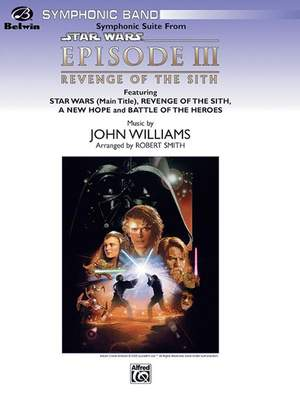 John Williams Star Wars Episode Iii Revenge Of The Sith Symphonic Suite From Presto Sheet Music