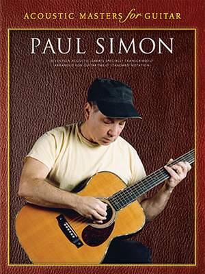Paul Simon: Acoustic Masters For Guitar: Paul Simon
