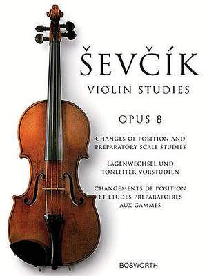 Otakar Sevcik: Violin Studies Opus 8