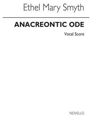 Ethel Smyth: Anacreontic Ode