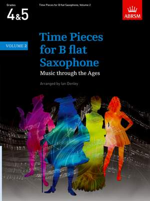 Ian Denley: Time Pieces for B flat Saxophone, Volume 2