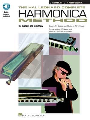 Bobby Joe Holman: Complete Harmonica Method - Chromatic Product Image