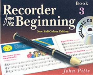 Recorder From The Beginning: Pupil's Book 3 & CD
