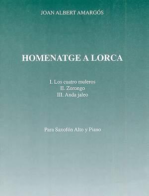 Joan Albert Amargos: Homenatge A Lorca