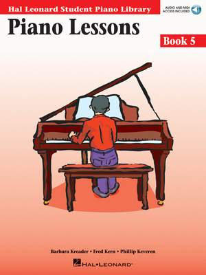 Barbara  Kreader: Piano Lessons Book 5 - Book & Audio