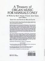 Rollin Smith: A Treasury Of Organ Music f Manuals Only 46 Works Product Image
