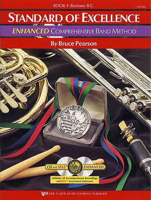 Standard of Excellence Enhanced 1 (Baritone BC)