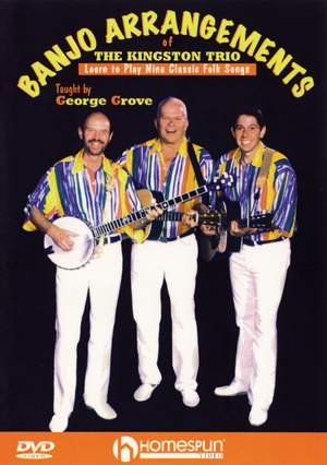 George Grove: Banjo Arrangements Of The Kingston Trio Product Image