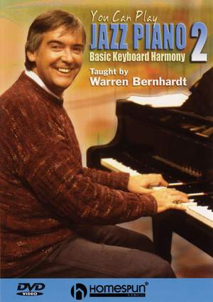 Warren Bernhardt: You Can Play Jazz Piano 2 Product Image