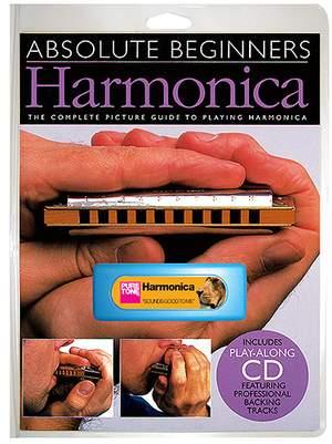 Absolute Beginners: Harmonica-Instrument Pack