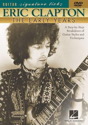 Eric Clapton - The Early Years Product Image