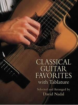 David Nadal: Classical Guitar Favorites With Tablature