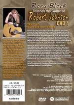 Robert Johnson_Rory Block: Rory Block Teaches The Guitar Of Robert Johnson Product Image