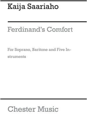 Kaija Saariaho: Ferdinand's Comfort