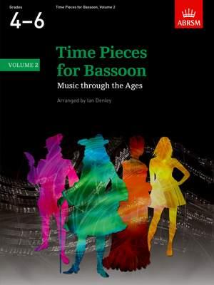 Ian Denley: Time Pieces for Bassoon, Volume 2