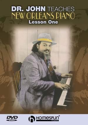 Dr.John Teaches New Orleans Piano 1