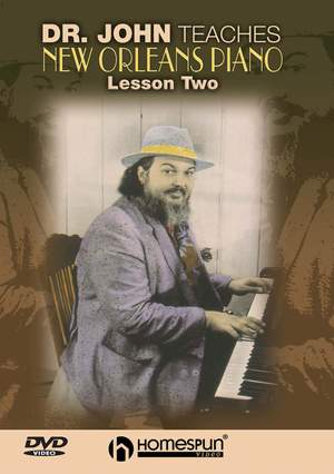Dr. John Teaches New Orleans Piano 2