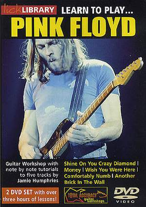Pink Floyd: Learn To Play Pink Floyd