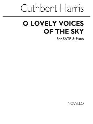 Cuthbert Harris: O Lovely Voices Of The Sky